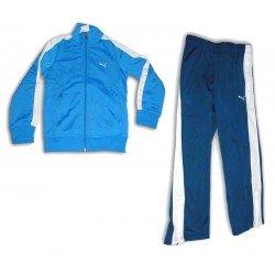 chandal PUMA SCHOOL niño deporte azul