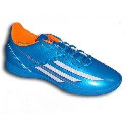 ADIDAS F50-F5 BALE MESSI AZUL 2014 zapatilla futbol Sala infantil IC