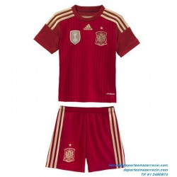 Camiseta ESPAÑA MUNDIAL 2014 ROJA CONJUNTO NIÑO oficial adidas