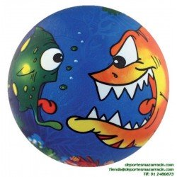 Pelota PVC PEZ 0-6 años 220mm softee
