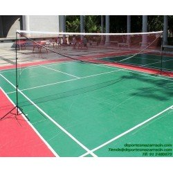 RED BADMINTON SENCILLA softee