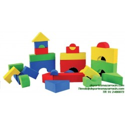 SET CONSTRUCCION FOAM softee