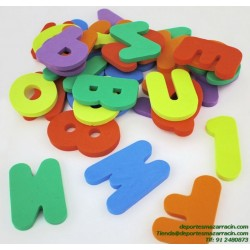 SET LETRAS FOAM softee