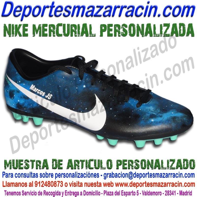 personalizar-botas-de-futbol-nike-mercurial -grabar-estampar-nombre-numero-bandera-escudo.jpg 02adf8c9bc1a7