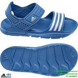Adidas AKWAH 8 azul NIÑO sandalia chancla