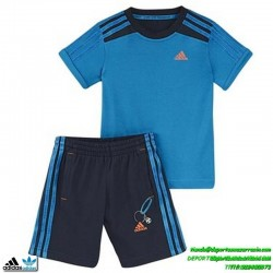 Adidas conjunto niño azul SUMMER SET