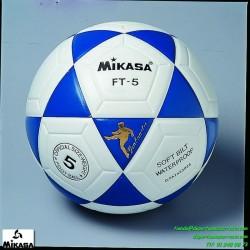 Balón Mikasa FT5 Futbol blanco-azul