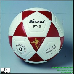 Balón Mikasa FT5 Futbol blanco-rojo