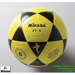 Balón Mikasa FT5 Futbol Amarillo-Negro