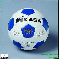 Balón Mikasa SWL-4 Futbol Tamaño 4 AZUL