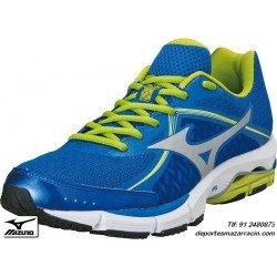 Mizuno WAVE ULTIMA 6 AZUL 2014 zapatilla Running Correr atletismo control pisada neutra deporte PERSONALIZAR J1GC140903