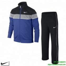 chandal nike deporte junior niño azul T45 ADJ WARM UP boys chico colegio poliester acetato 677829-480