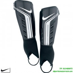 Nike Espinillera NIÑO YOUTH PROTEGGA SHIELD negro canillera junior con tobillera SP0254-067