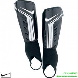 Nike Espinillera NIÑO YOUTH PROTEGGA SHIELD negro canillera junior con tobillera SP0254-067