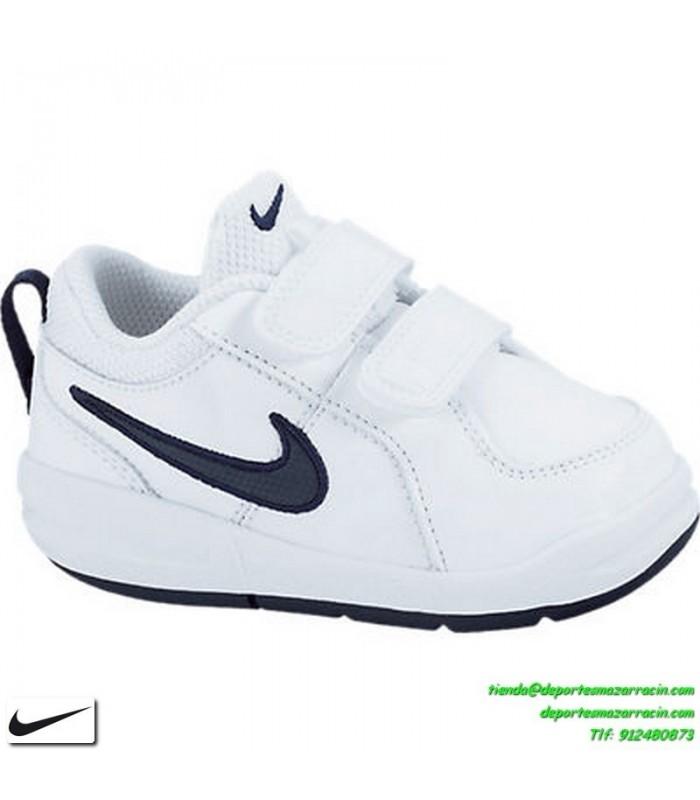 0a34f41c2 Nike PICO 4 Zapatilla Niño Blanco-Azul 20-27