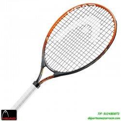Raqueta tenis HEAD RADICAL 23 niños de 6-7 años junior aluminio personalizar nombre bandera 232324
