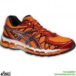 Asics GEL KAYANO 20 2014 NARANJA zapatilla Running correr oferta control pronación deporte MIXTA PERSONALIZAR T3N2N_3290