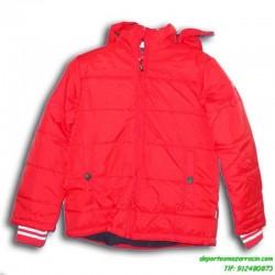 Abrigo PARA NIÑOS Joluvi COLE color ROJO chaqueta parka anorak infantil junior capucha acolchado niña junior infantil chica