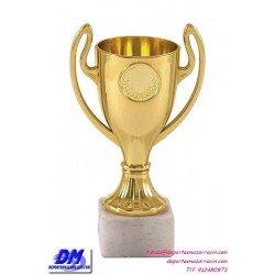 Trofeo copa economico 4283 diferentes alturas premio deporte pallart grabado chapa personalizado