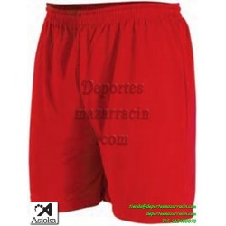 Asioka PANTALON CORTO 90/08 Futbol Deporte color ROJO equipacion short deporte talla