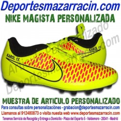 PERSONALIZAR botas de futbol NIKE MAGISTA GALERIA de Imagenes de muestra