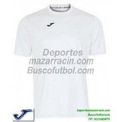 JOMA CAMISETA COMBI color BLANCO Futbol Manga Corta Larga talla barata equipacion 100052.200