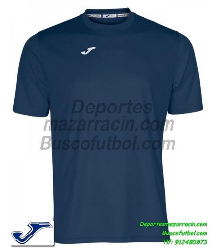 b1d51ebb28595 JOMA CAMISETA COMBI color AZUL MARINO Futbol Manga Corta Larga talla barata  equipacion 100052.300