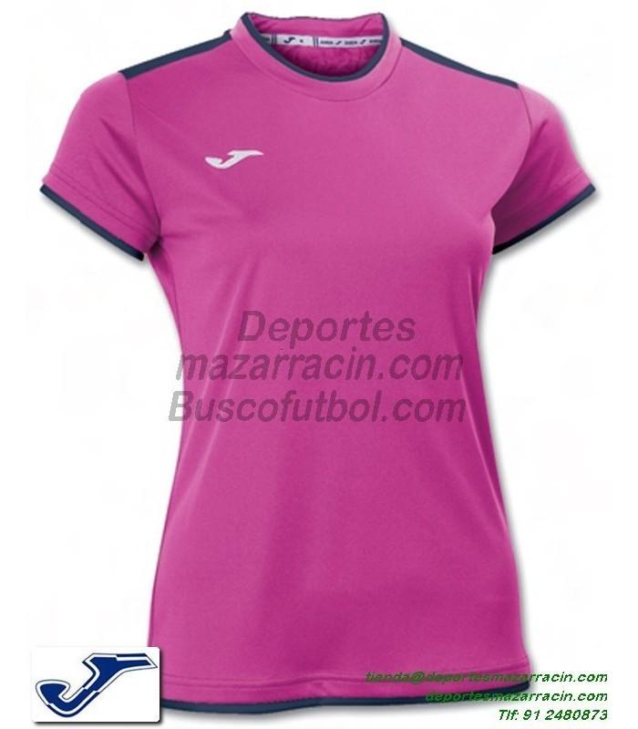 JOMA CAMISETA KATY WOMAN color ROSA Futbol Manga Corta femenino ...