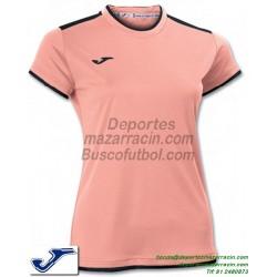 JOMA CAMISETA KATY WOMAN color SALMON Futbol Manga Corta femenino mujer talla equipacion 900017.070