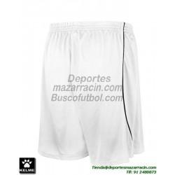KELME PANTALON CORTO MUNDIAL Futbol color BLANCO equipacion short SPORT talla hombre niño 78406-6