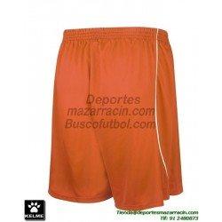 KELME PANTALON CORTO MUNDIAL Futbol color NARANJA equipacion short SPORT talla hombre niño 78406-227
