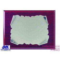 Placa de Homenaje de ALPACA 97210 diferentes tamaños premio pallart grabado laser personalizado