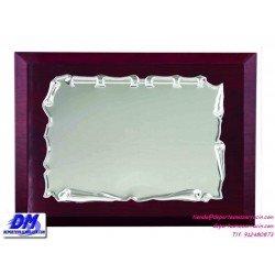 Placa de Homenaje de ALPACA 97213 diferentes tamaños premio pallart grabado laser personalizado