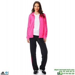 Adidas DIANA SUIT CHANDAL MUJER Rosa