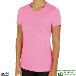 Camiseta ADIDAS PRIME TEE Rosa Mujer
