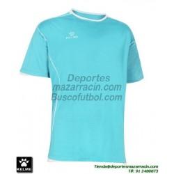 KELME CAMISETA MUNDIAL color AZUL CELESTE Futbol Manga Corta talla equipacion hombre niño 78401-74