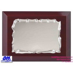 Placa de Homenaje 97226 chapa madera estuche diferentes tamaños premio pallart grabado laser personalizado