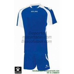 KELME CONJUNTO SABA SET color AZUL Futbol camiseta pantalon talla equipacion hombre niño 78412-196