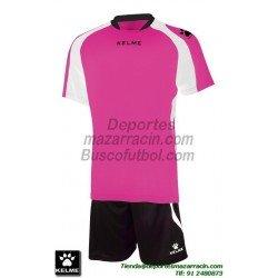 KELME CONJUNTO SABA SET color ROSA FUCSIA Futbol camiseta pantalon talla equipacion hombre niño 78412-992