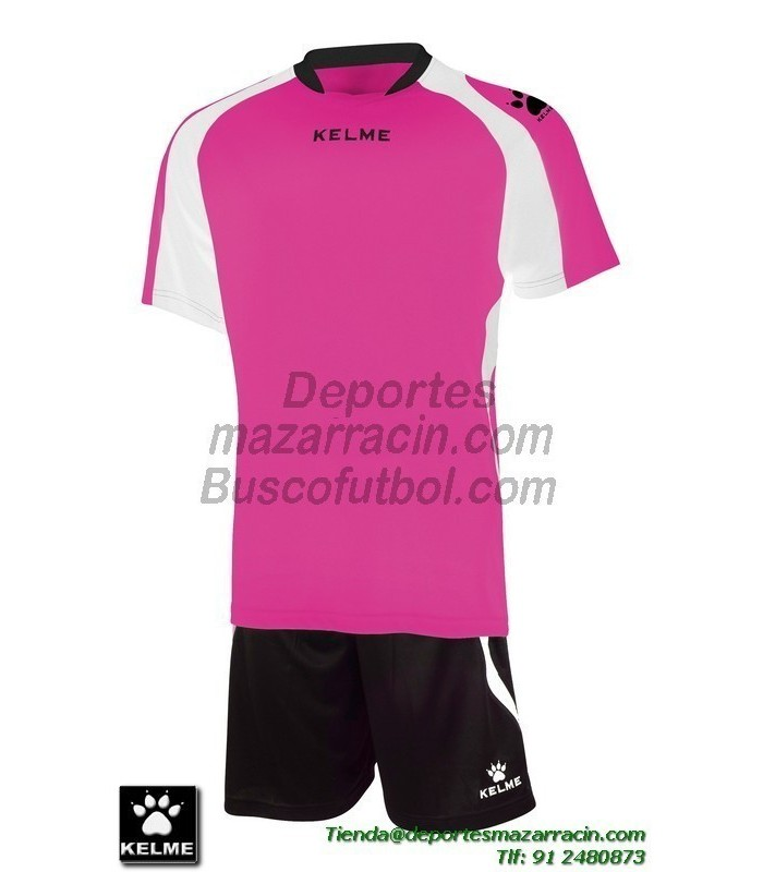 KELME CONJUNTO SABA SET color ROSA FUCSIA Futbol camiseta pantalon talla  equipacion hombre niño 78412-992 ce9ec9562405b