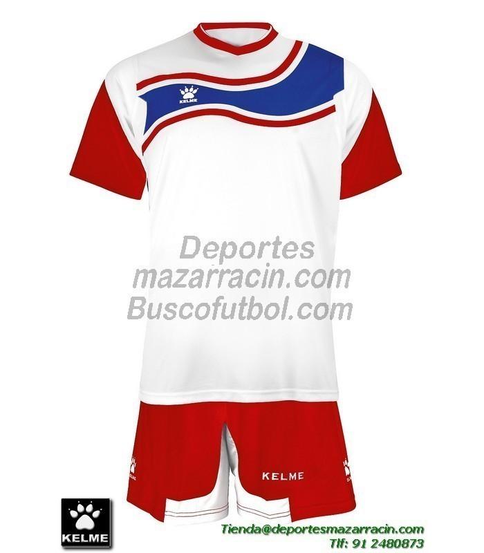 KELME CONJUNTO SURINAME SET color BLANCO ROJO Futbol camiseta pantalon  talla equipacion hombre niño 78417-140 31aa0b9a7d456