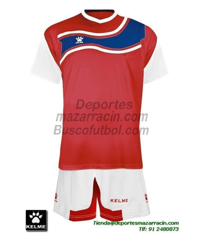 KELME CONJUNTO SURINAME SET color ROJO BLANCO Futbol camiseta pantalon  talla equipacion hombre niño 78417-129 0269d7e80c783
