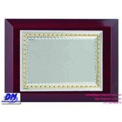 Placa de Homenaje 97244 chapa madera bolsa economica diferentes tamaños premio pallart grabado laser personalizado