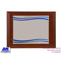 Placa de Homenaje 97637 chapa madera bolsa economica diferentes tamaños premio pallart grabado laser personalizado