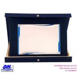 Placa de Homenaje 97062 chapa madera bolsa economica diferentes tamaños premio pallart grabado laser personalizado