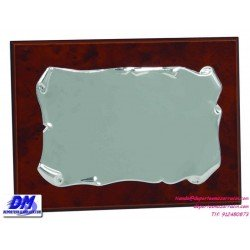 Placa de Homenaje 97609 chapa madera economica diferentes tamaños premio pallart grabado laser personalizado