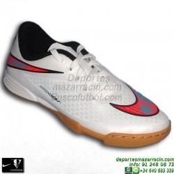 Nike HYPERVENOM PAHDE niño BLANCO 2015 neymar ISCO zapatilla futbol niño sala infantil IC indoor personalizar nombre 599842-148