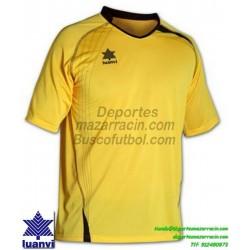 LUANVI CAMISETA MASTER Futbol color AMARILLO Manga Corta talla equipacion hombre niño 05594-0034