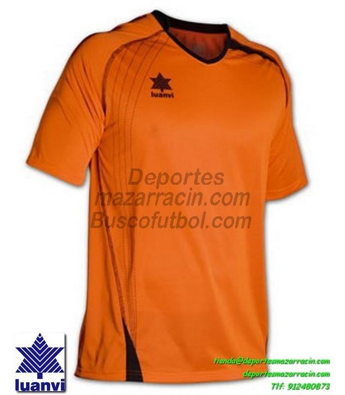 LUANVI CAMISETA MASTER Futbol color NARANJA Manga Corta talla equipacion  hombre niño 05594-0304 d4e880b4686a