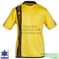 LUANVI CAMISETA RIVER Futbol color AMARILLO Manga Corta talla equipacion hombre niño 06162-0034